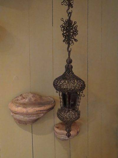 FILIGREE PENDANT LANTERN FROM XIXTH CENTURY