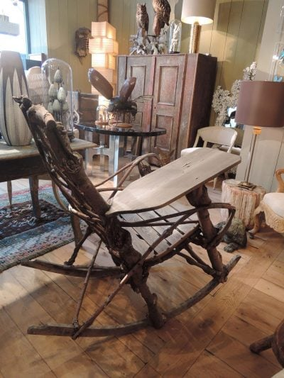 ROCKING CHAIR BRINDILLES & BRANCHES CA,1900