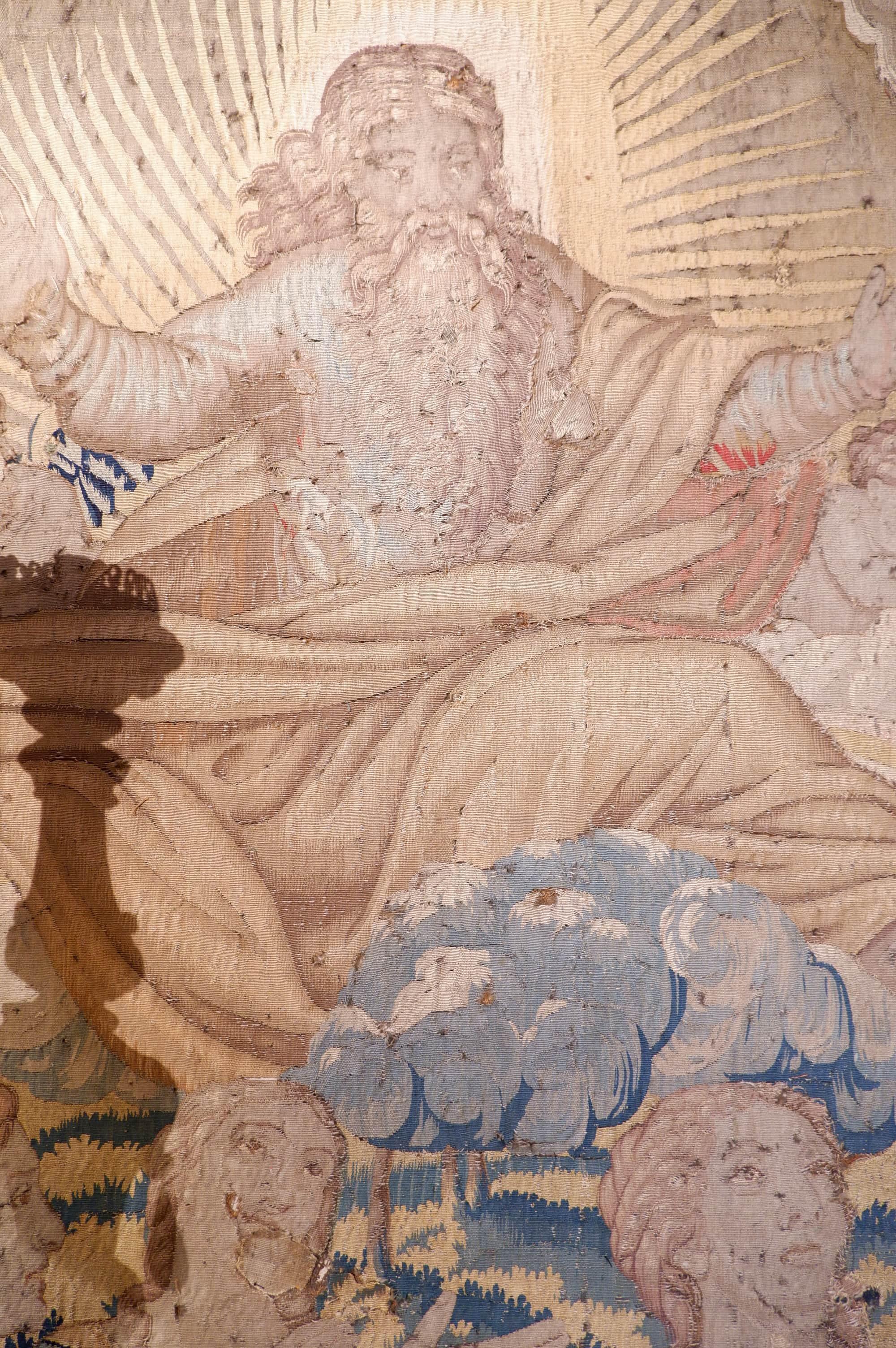 Grande tapisserie flamande XVIIIe