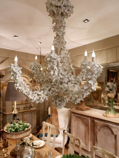 """Chandelier """"leaves"""" by Edouard Chevalier Nov 2019"""