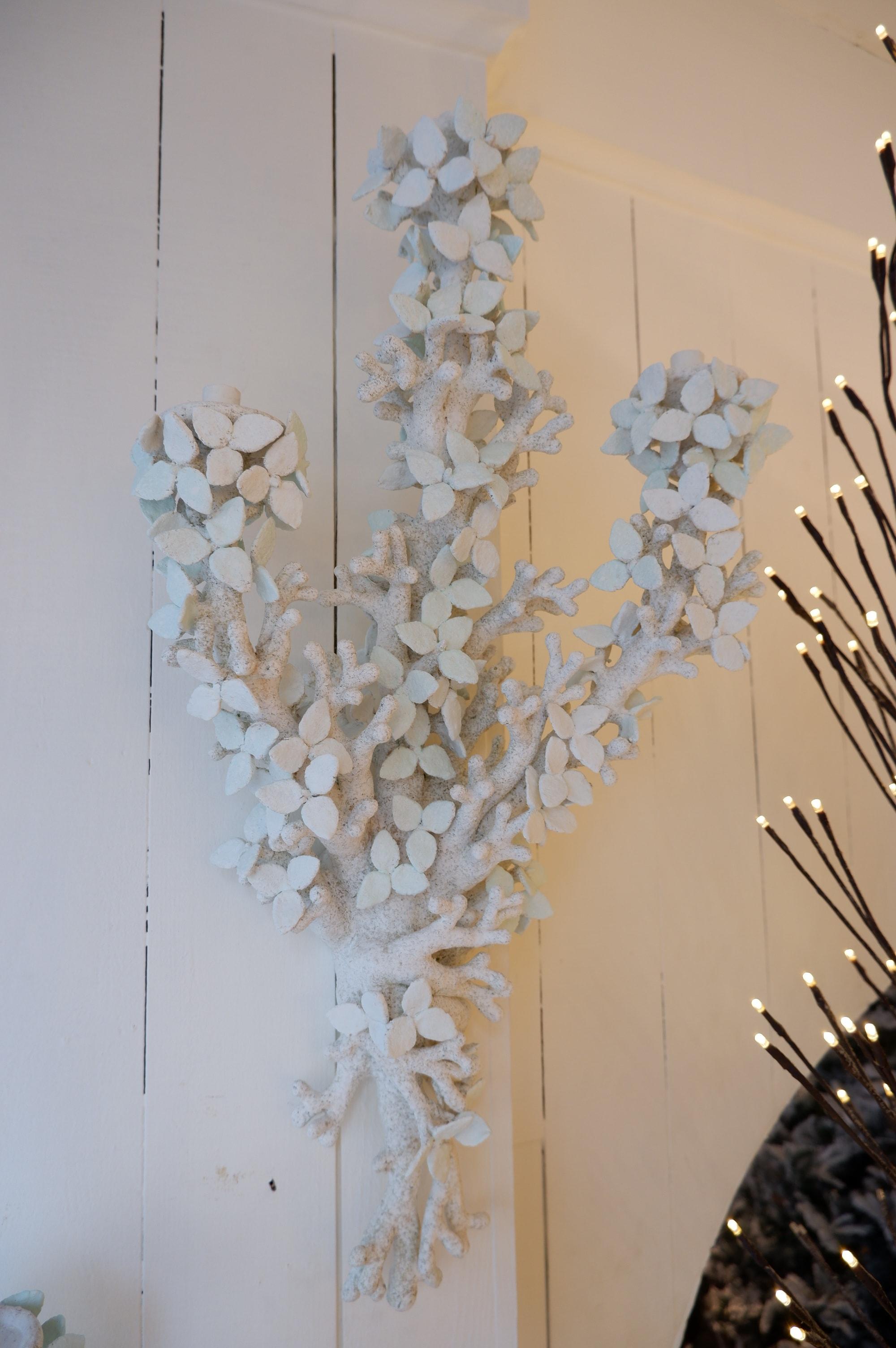 """Paire d'appliques """"feuilles"""" par Edouard Chevalier – Nov 19"""