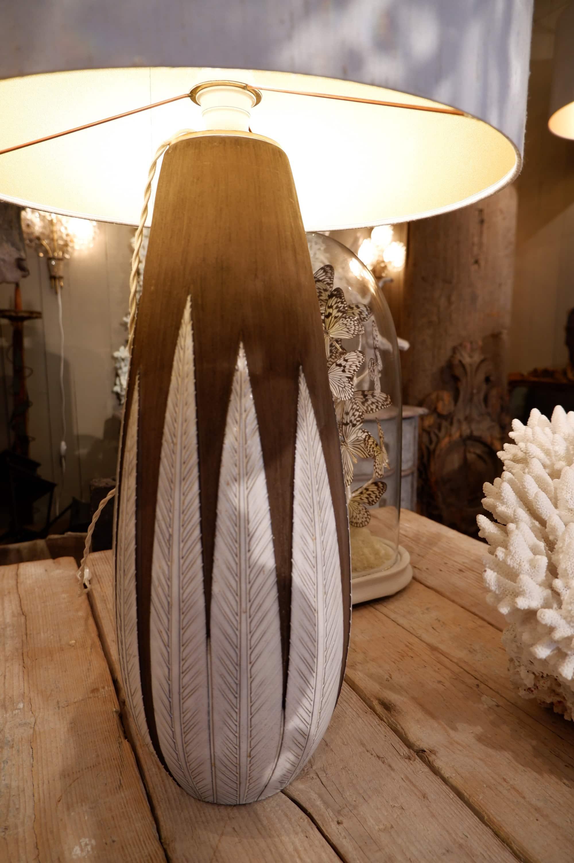 Grande lampe Paprika par Anna Lisa Thomson ca.1960