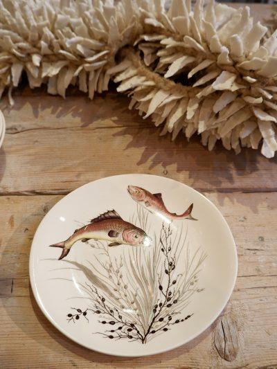 Service à poisson en porcelaine par Johnson Brothers ca.1950